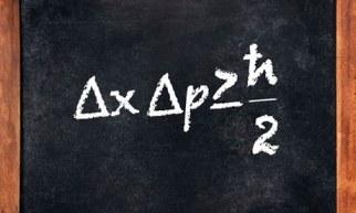 Heisenberg's Uncertainty Principle. Photograph: Alamy