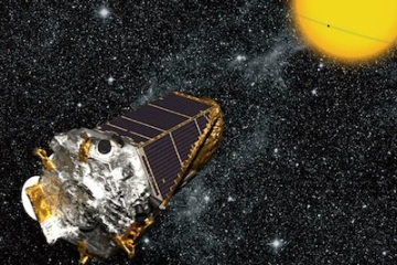 Artist's concept of the Kepler spacecraft. Credit: NASA/Ames
