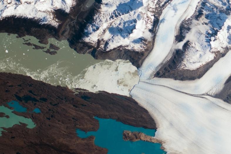 Upsala Glacier Retreat via Nasa.gov