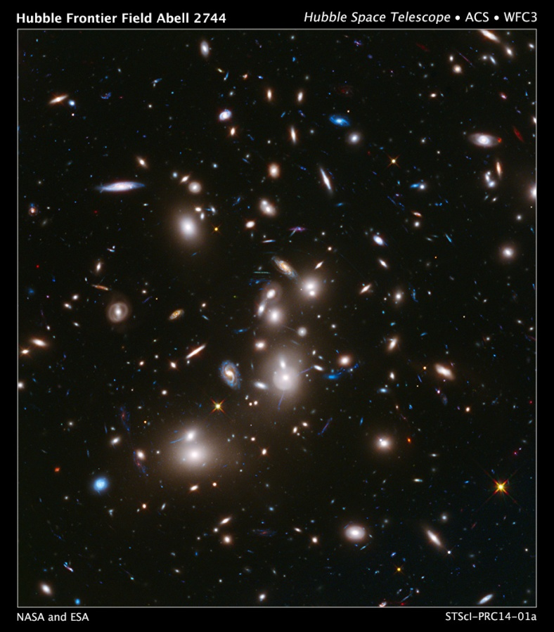 Hubble Frontier Field Abell 2744 - Hubble Space Telescope